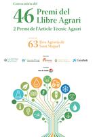 Convocatòries pel Premi del Llibre Agrari i de l'Article Tècnic Agrari