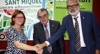 Carmen López, Àngel Ros i Fèlix Larrosa