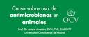 Curs del Consejo impartit per Arturo Anadón sobre ús d'antimicrobians en animals, el 24 d'abril al Col·legi de Lleida