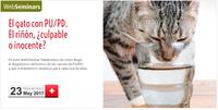 """Curs online (WebSeminar) el 23 de maig sobre """"El gato con PU/PD. El riñón, ¿culpable o inocente?"""", amb inscripcions gratuïtes per a col·legiats"""