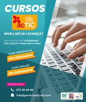 Cursos acTIC - Promoció especial per a col·legiats Lleida