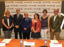 El Premi del Llibre Agrari de la Fira de Sant Miquel registra 36 obres i signa el conveni amb els patrocinadors, entre ells el COVLL