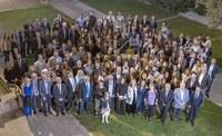 Els veterinaris de Lleida celebren la seva gran festa anual en un sopar ple de distincions i amb rècord d'assistents