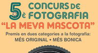 """En marxa la 5a edició del concurs de Fotografia """"La Meva Mascota"""""""