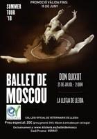 """Entrades a preus especials per als col·legiats per l'espectacle """"Don Quixot"""" del Ballet de Moscú a la Llotja de Lleida el 25 de juliol"""