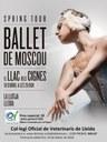 Entrades a preus especials per als col·legiats per l'espectacle del Llac dels Signes del Ballet de Moscú a la Llotja de Lleida