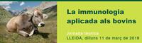 """Jornada PATT al Col·legi sobre """"La immunologia aplicada als bovins"""", el dilluns 11 de març"""