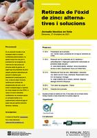 """Jornada PATT del Col·legi – """"Alternatives i solucions davant el repte de deslletar garrins sense òxid de zinc"""", el dimecres 27 d'octubre"""