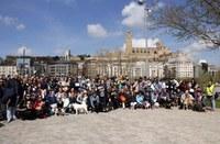 La tercera edició de la Passejada Popular de Mascotes arriba als 150 inscrits i l'activitat es consolida