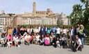Matí especial amb la Passejada de Mascotes i l'anunci d'haver aconseguit el Repte Solidari en favor de l'AECC Lleida