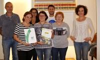 Programa de teràpia assistida amb gossos per població en risc gràcies a un conveni del Col·legi de Veterinaris de Lleida amb Actua