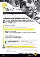 Taller de formació al Col·legi sobre anestèsia, el dimarts 28 de maig