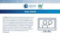 Taller GRAM online de Ceva sobre agents infecciosos (us responsable d'antibiòtics), el 16 de juliol