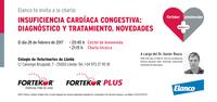 Tot el que cal saber sobre la insuficiència cardíaca congestiva, el dia 28 de febrer al COVLL