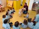 Visita veterinària a l'Escola Bressol Municipal Parc de Gardeny