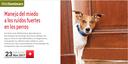 """Webseminar gratis pels col·legiats sobre """"El manejo del miedo a los ruidos fuertes en los perros"""", el 23 de novembre"""