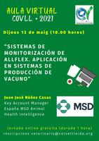 """Xerrada virtual sobre """"Sistemas de monitorización de Allflex. Sistemas de producción de vacuno"""", el 13 de maig"""