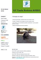12a Taula Rodona sobre Cirurgia al Camp que tindrà lloc el proper 22 de febrer a la Facultat de Veterinària UAB