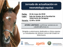 """Jornada neonatología equina"" a Saragossa, el 16 de maig"