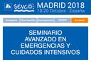 AVEPA - Seminario Avanzado en Emergencias y Cuidados Intensivos, 18-20 octubre Madrid