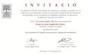 Conferència a l'Acadèmia de Ciències Veterinàries de Catalunya, el 7 de juny