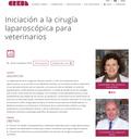 Curs d'Iniciació a la cirurgia laparoscòpica per a veterinaris al CREBA