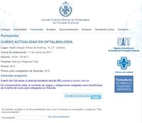 Curso Oftalmología – Oviedo Asturias – 11 de març