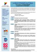 """II Jornada Veterinaris i Salut Pública """"Gats Ferals i Colònies Urbanes, un repte per la professió"""""""