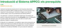 Introducció al Sistema APPCC: els prerequisits, el 12 de juny a Barcelona