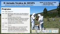IV Jornada técnica de AVESPA, el 22 de febrer a Madrid