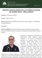 Jornada AVEPA - NEURO ONCOLOGÍA EN LA CLÍNICA DIARIA