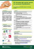 """La """"III Jornada del sector porcí: ús racional d'antibiòtics"""", el 31 a Les Borges"""