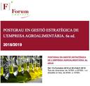 VI Edició del Postgrau Agroalimentari UdL i Forum Empresa - 2018/19