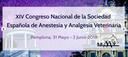 XIV Congreso de Anestesia y Analgesia Veterinaria, del 31 de maig al 2 de juny a Pamplona