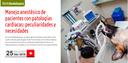 """WebSeminar (COVLL-Asís) """"Manejo anestésico de pacientes con patologías cardiacas: peculiaridades y necesidades"""", el 25 d'abril amb places gratuïtes per a col·legiats"""